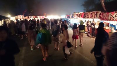 飯綱町霊仙寺湖(レイゼンジコ)花火大会 「天狗の火舞」・・・ 霧でガスガスで悲しい結果