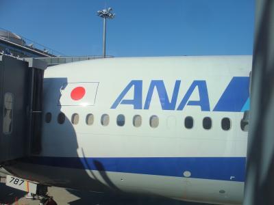 ANAビジネスクラスで行く ドイツ (飛行機編)
