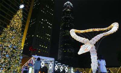 香港・澳門・パタヤ・盤谷2015.12 (1)香港繽紛冬日節