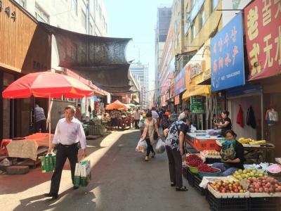 2015年  延辺でリフレッシュ  3  延吉市内街歩き