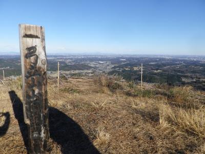埼玉ときかわ町の雷電山・弓立山を歩く