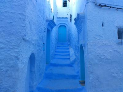 ジブラルタル海峡を渡ってモロッコ周遊の旅(4) シャウエン