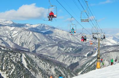 年末年始は白馬山麓スキー三昧(鹿島槍~八方尾根~岩岳)