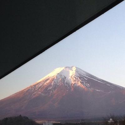 2016年の初旅は家族で富士山へ