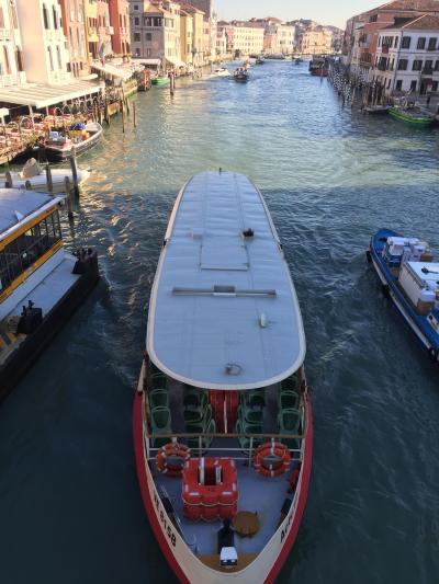 やっと着いたベネチア!さぁ、バポレットで大運河へ