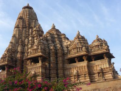 インド北西部14の世界遺産を巡る旅~世界遺産その6 カジュラホ西群