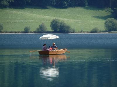 オーストリアのチロル&エーアヴァルト、ドイツのバイエルンの旅 【39】 ゴイング村から Hintersteiner See へ