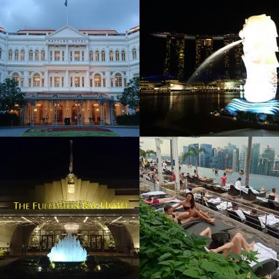 ホテルライフを満喫!充実のシンガポール5日間 with my family フラートンベイホテル・マリーナベイサンズ・ラッフルズホテル