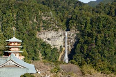 1月4日那智の滝と七里御浜