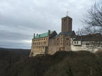 2015年~2016年 ドイツ冬の旅① アイゼナッハ