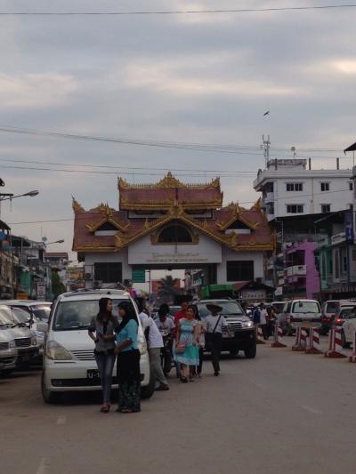 タイから国境を越えてミャンマーへ②
