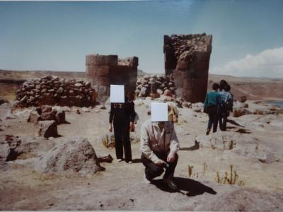 (3)1982年8月南米一周(ペルー ボリビア アルゼンチン ブラジル)インカ遺跡の旅15日間⑥ペルー(プーノ シユスタニ遺跡)