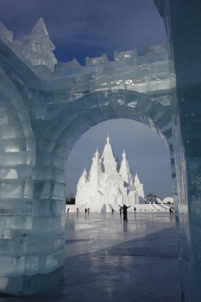 ハルビン氷祭りとシャングリラハルビン