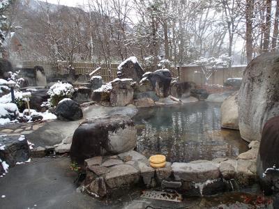 秘湯へ 新穂高温泉 谷旅館