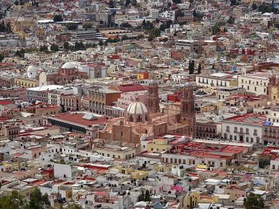 サカテカスの歴史地区(メキシコ) 2016.1.25