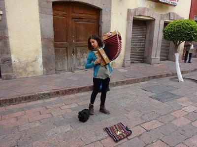 ケレタロの歴史地区(メキシコ) 2016.1.29