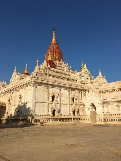 2015Winter 世界三大仏教遺跡制覇に向けミャンマー・バガンへ ②いよいよバガンへ 初日足慣らしに自転車でサラッとオールドバガンを巡る