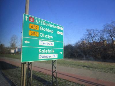 「Haruka in Poland & Lithuania (+ Germany)」 vol.2 国際バスでワルシャワ→カウナス