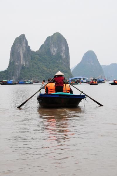 冬のベトナムその02~ハノイから日帰りハロン湾ツアー