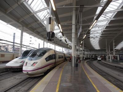 カタール航空で行くスペイン高速列車に乗る旅 その3