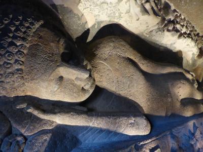 インド北西部14の世界遺産を巡る旅~世界遺産その11 アジャンターの石窟寺院窟群③