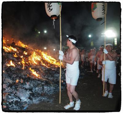 大崎八幡宮★どんと祭(松焚祭)と裸参り★