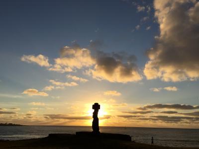 絶海の孤島イースター島とサンティアゴ~チリのたび②~