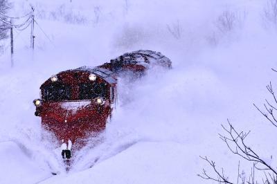 冬の北海道、道北地方を巡る旅 ~宗谷本線の定期排雪列車(宗谷ラッセル)を追いかけて@天塩中川、音威子府 (2016年度版)~