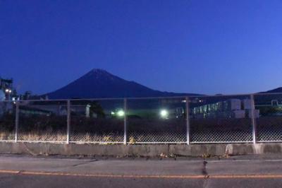 富士山見ながら散歩しました 2016.01.15