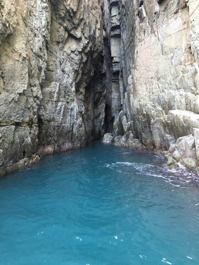 釜山から巨済島の青の洞窟へ