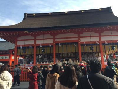 2016年も京都でお正月