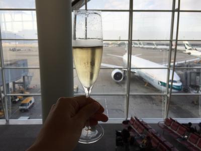 JALマイル修行 | 香港国際空港ラウンジホッピング | 2015年12月