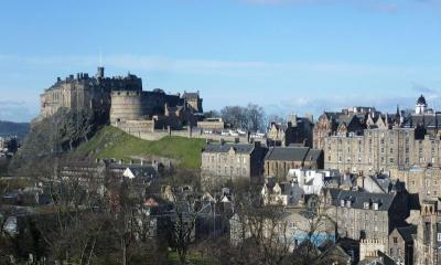 英国周遊ハネムーン⑦《スコットランド~エディンバラ城》