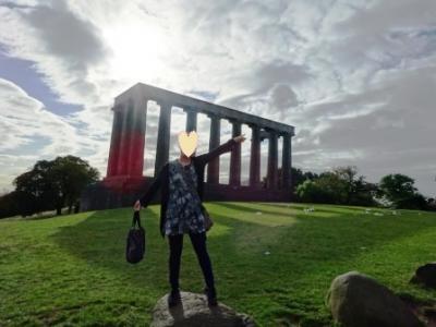英国周遊ハネムーン⑫《スコットランド~カールトンヒル&MUSEUM OF SCOTTLAND》