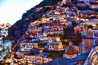 2015南イタリア世界遺産巡り~8.アマルフィ海岸の最高級リゾート ポジターノ~