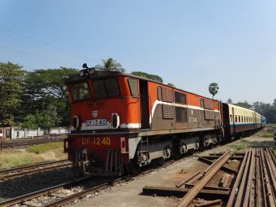 ちょこっとミャンマー鉄道