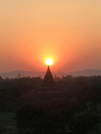 2015Winter 世界三大仏教遺跡制覇に向けミャンマー・バガンへ ④バガン2日目PM ミィンカバー村周辺とサパダ・パヤーそしてブレディでサンセット