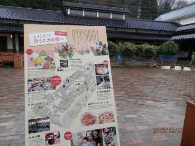 片山津温泉2泊①2昼食とウサギと遊ぶ