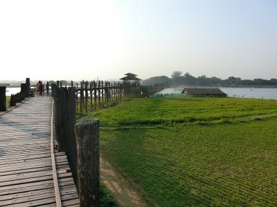 ミャンマー、とんでも旅 3~ウーベイン橋(アマラプラ)