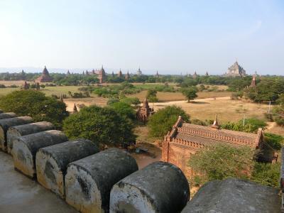 ミャンマー、とんでも旅 6~ひとりぼっちの、遺跡めぐり(バガン)