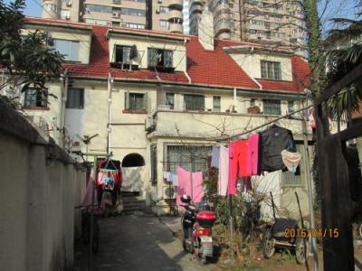 上海西部越界築地域の番禺路・歴史建築