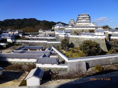 2016年帰省ついでのお伊勢参り №5 8年振りに訪問した井村さんの姫路城は平成の大修理中でした(^^ゞ