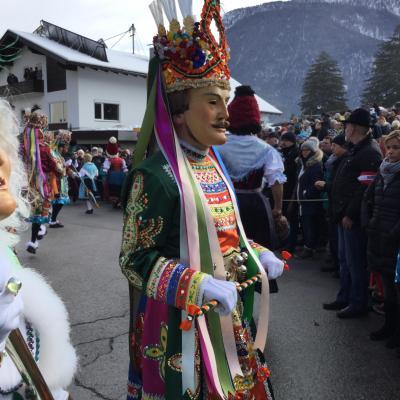 チロル地方の仮面カーニバルを訪ねて  その1  ナッセライト