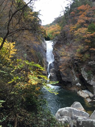 紅葉狩り三昧の2015年秋・昇仙峡で見納め
