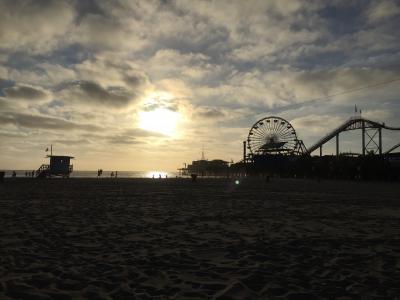 アメリカでひとりぼっち旅【Day4~サンタモニカ→ベニスビーチ】