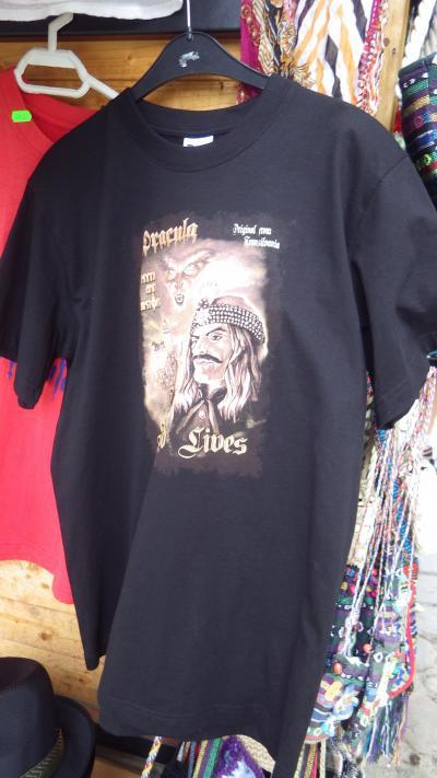 ルーマニアのGOODなドラキュラTシャツ