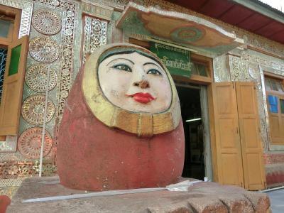 ミャンマー、とんでも旅 7~ポッパ山はダルマの聖地?