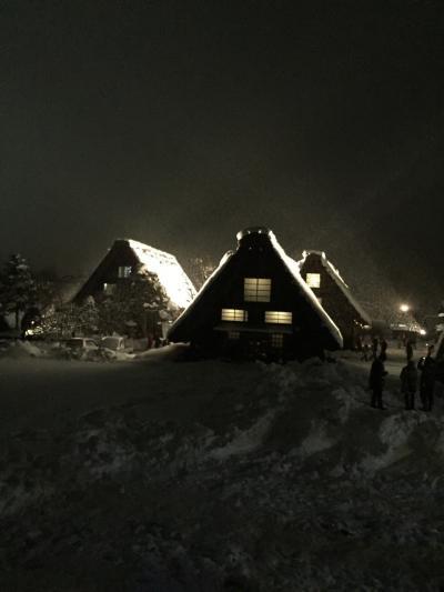 冬の五箇山、白川郷