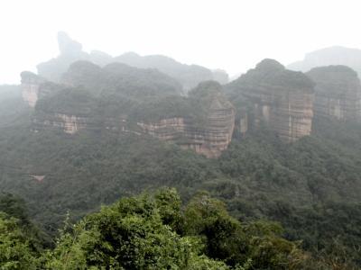 丹霞山・国家級風景名勝区めぐり