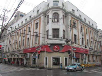 上海英租界四川中路の5次歴史建築